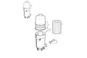Новые Корпуса топливного фильтра Daf