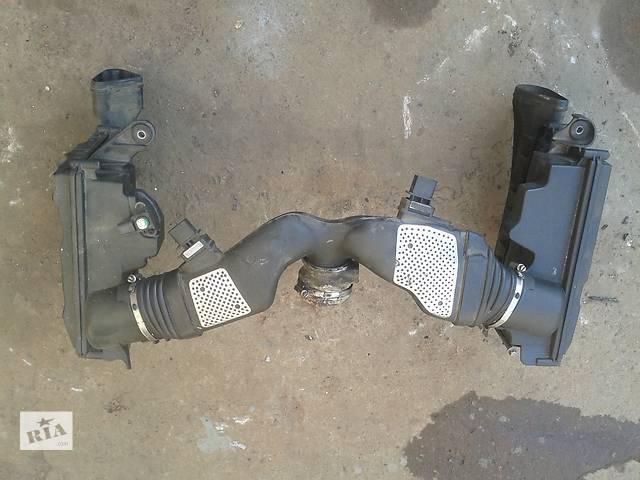 бу Корпус воздушного фильтра патрубок расходомер А6420943497 Mercedes W221 в Запорожье
