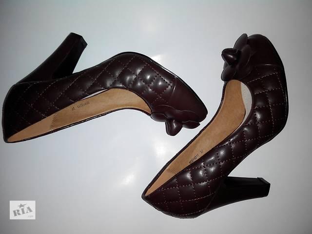 продам Коричневые женские туфли бу в Харькове