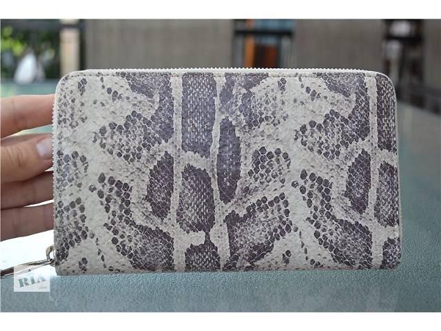 продам Кошелёк Furla snakeskin Clutch wallet , оригинал бу в Одессе