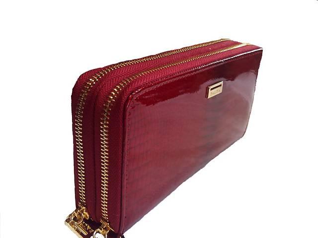 купить бу кошелек клатч женский кожаный BALISA шикарный дизайн в Одессе