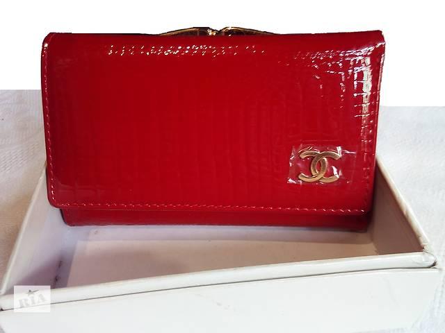 бу кошелек женский кожаный бренд CHANEL стильный компактный в Одессе
