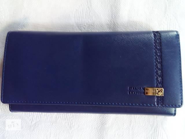 купить бу кошелек женский из эко-кожи с тиснением в виде вышивки в Одессе