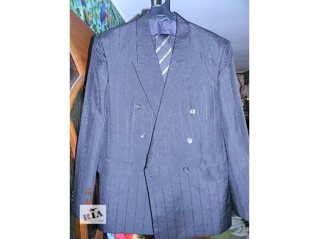 продам Костюм мужской двубортный новый ПОДАРОК (новый галстук) бу в Николаеве