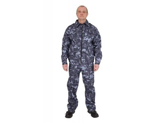 бу Костюм Охрана, мужская, рабочая одежда, коммуфляж, спецодежда в Киеве