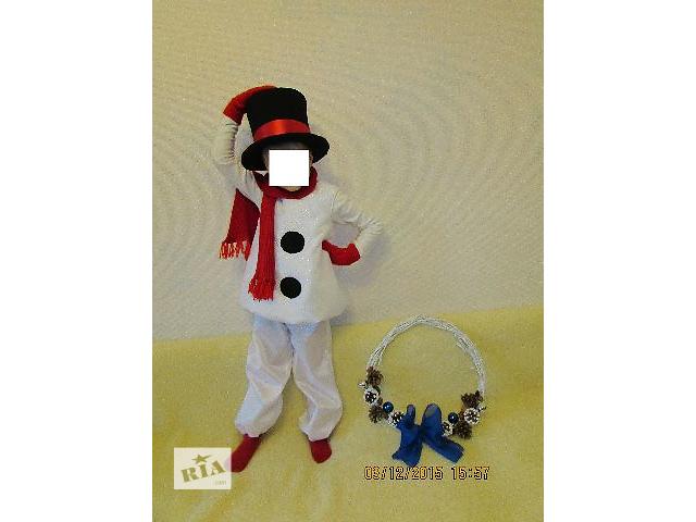 костюм Снеговика- объявление о продаже  в Львове