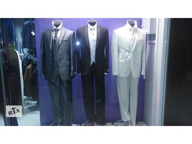 продам Костюми, пальта, брюки, сорочки бу в Львове