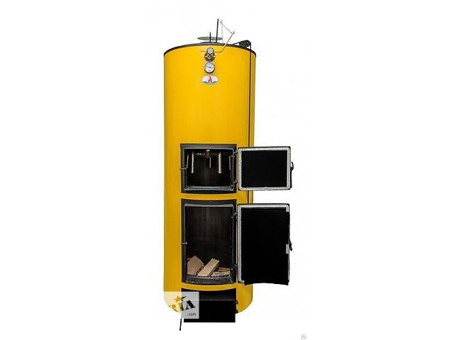 купить бу Котел на твердом топливе Буран-40 ГВС(на дровах до 30 часов) в Львове