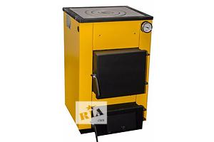 Котел твердотопливный 12 кВт. Толщина металла - 4 мм. Горит до 8 ч