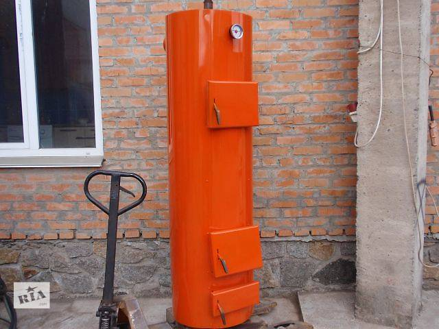 продам Котел твердотопливный длительного горения 12 кВт (с автоматикой) бу в Маньковке (Черкасской обл.)
