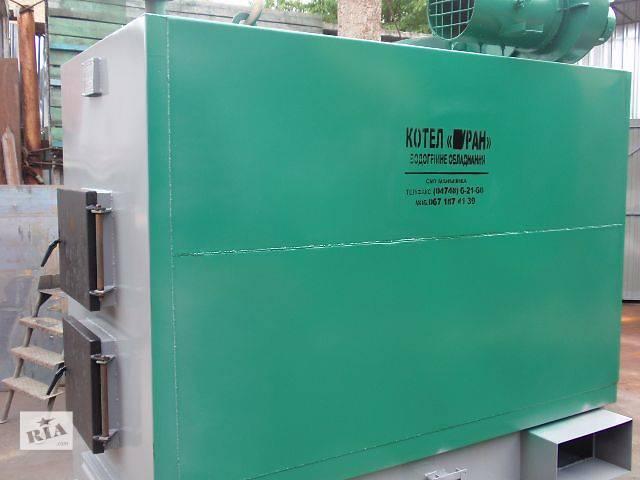 купить бу Котел твердотопливный двухконтурный 300 кВт (новинка) в Маньковке
