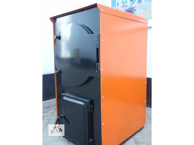 Котел твердотопливный жаротрубный 25 кВт (с автоматикой)- объявление о продаже  в Маньковке (Черкасской обл.)