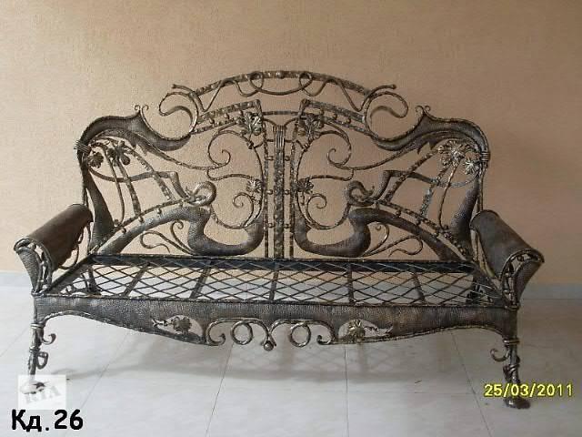 купить бу Кованая мебель: кровати ,столы, стулья, зеркала  в Харькове