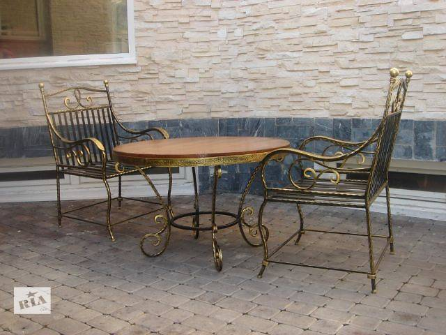 бу Кованая мебель для сада - лавочки и гарнитуры! в Виннице