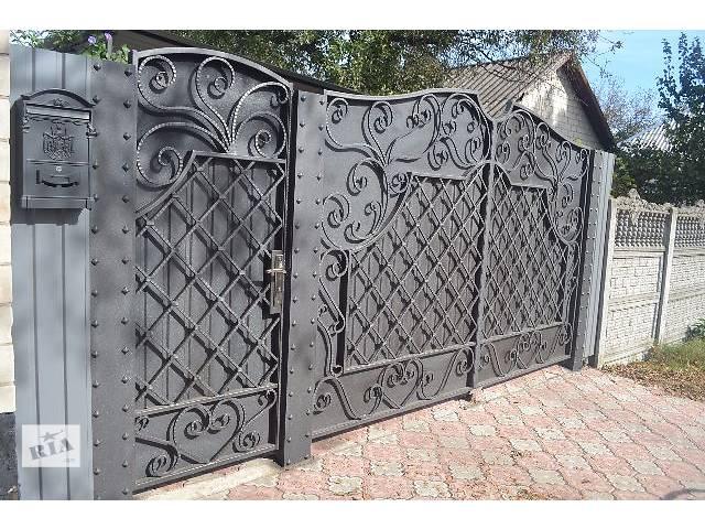 кованные ворота на заказ- объявление о продаже   в Украине