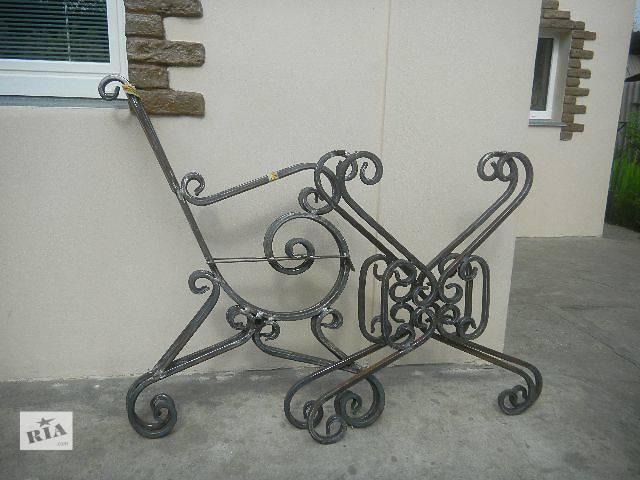 Кованые боковины для скамейки.- объявление о продаже  в Николаеве