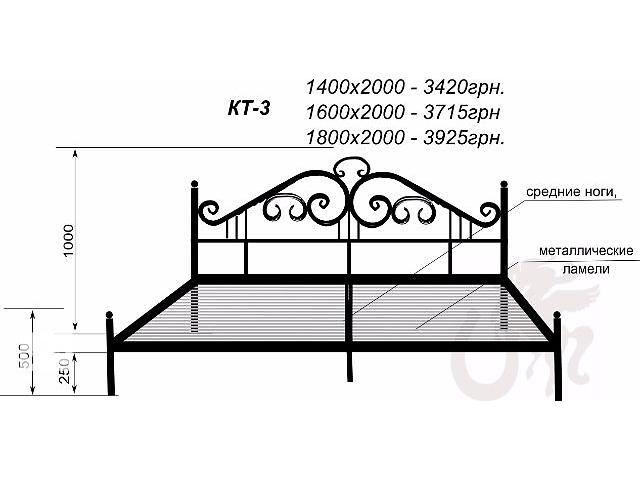Кованые кровати от производителя- объявление о продаже  в Харькове