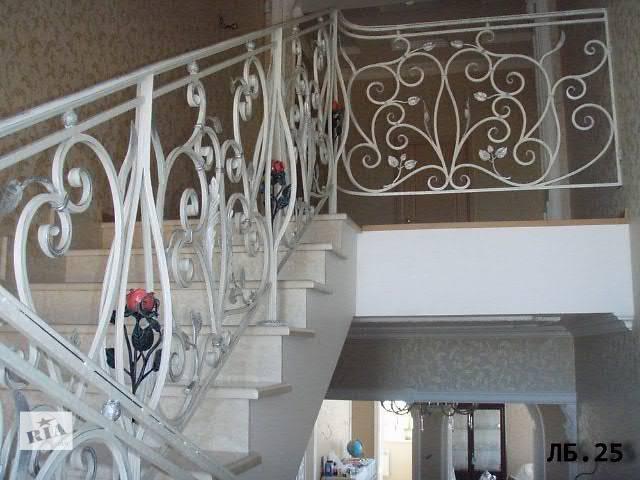 бу Кованые  лестницы и перила в Харькове