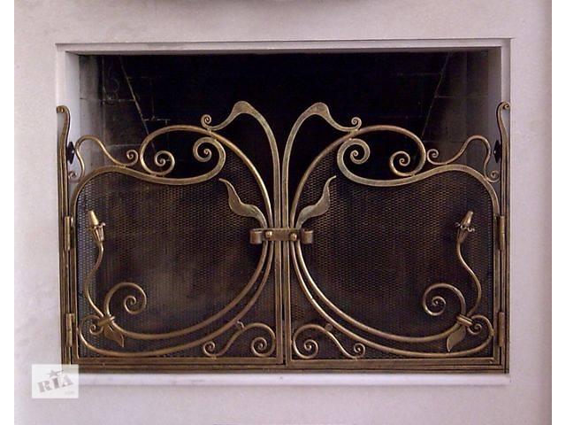 продам Кованые решетки и аксессуары для каминов! бу в Виннице