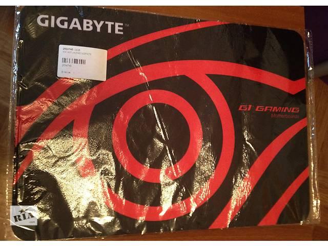 Коврик для мышки игровой новый Gigabyte G1 Gaming- объявление о продаже  в Киеве