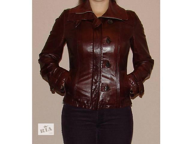 Кожаная куртка Versal- объявление о продаже  в Харькове