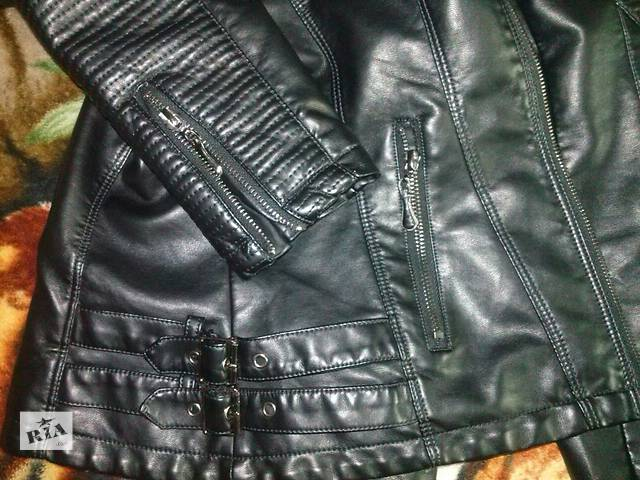 продам кожаная куртка бу в Северодонецке