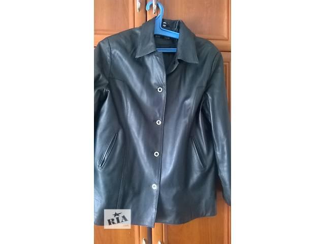 Кожаная куртка- объявление о продаже  в Кропивницком (Кировоград)