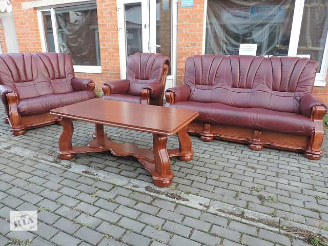 кожаная мебель cezar III,шыкарная мягкая мебель Польша Cezar III- объявление о продаже  в Дрогобыче