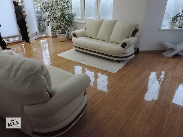 продам Кожаная мебель,кожаный комплект диван и кресла. бу в Дрогобыче