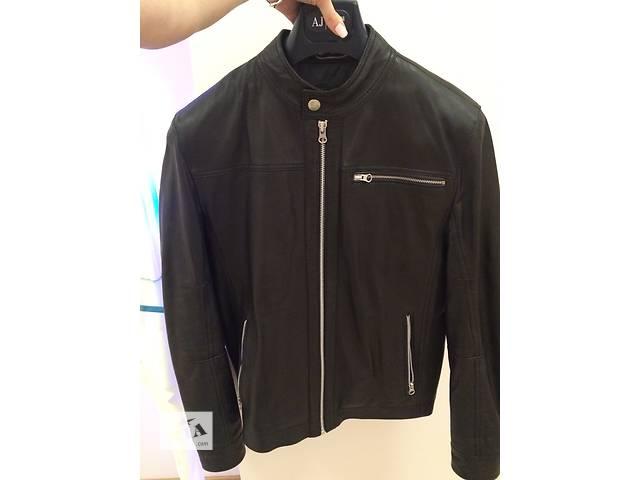 Кожаная мужская куртка Tommy Hilfiger Оригинал! Новая- объявление о продаже  в Днепре (Днепропетровске)