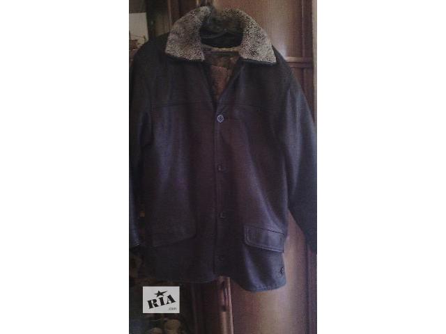 купить бу Кожаная мужская курточка в Хмельницком