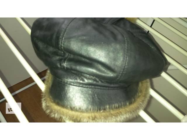 кожанная шапка  женская!!- объявление о продаже  в Кривом Роге