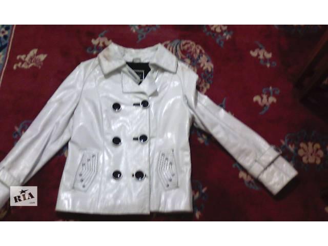 купить бу кожанная лаковая курточка в Харькове
