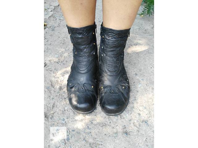продам Кожанные ботинки бу в Житомире
