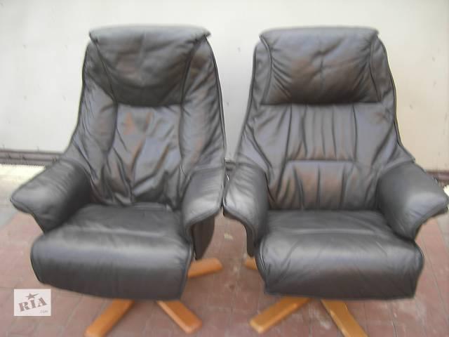 кожаное кресло для работы та отдыха- объявление о продаже  в Ровно