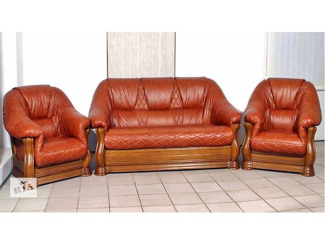 продам Кожаное кресло стандарт Маркиз Алькор бу в Киеве