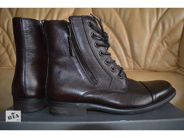 купить бу Кожаные ботинки Kenneth Cole в Киеве
