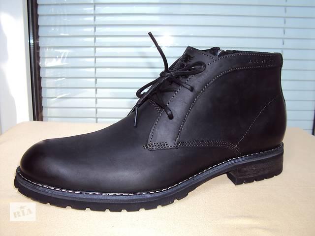 бу Кожаные ботинки Mark Nason Elmwood Black (Оригинал, привезены из США) р. 11,5(29,5см), полнота D – Medium в Киеве