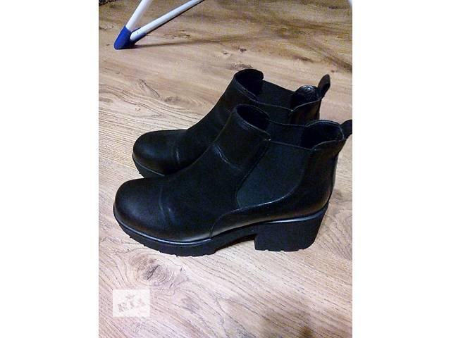 Кожаные ботинки- объявление о продаже  в Одессе