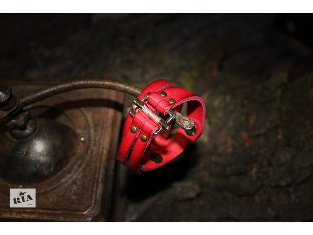 купить бу Кожаные браслеты ручной работы в Харькове