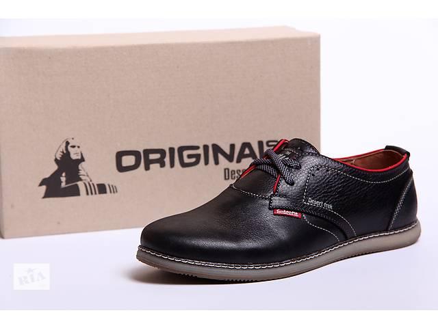 купить бу Кожаные классические мужские туфли Clarks Original England в Вознесенске