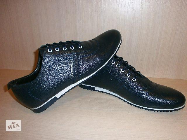 Туфли мужские кроссовки, кожа! Basconi - качество - супер- объявление о продаже  в Киеве