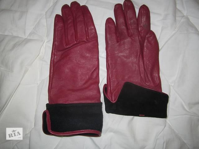 бу Кожаные перчатки в Киеве