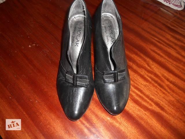 бу Кожание туфли 37 размер (Польша) в Верховине