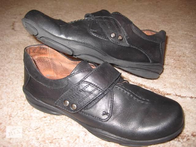 купить бу Кожаные туфли для мальчика, 32 размер, 21 см по стельке в Киеве