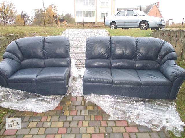 купить бу кожаный диван 5-ти местный в Луцке