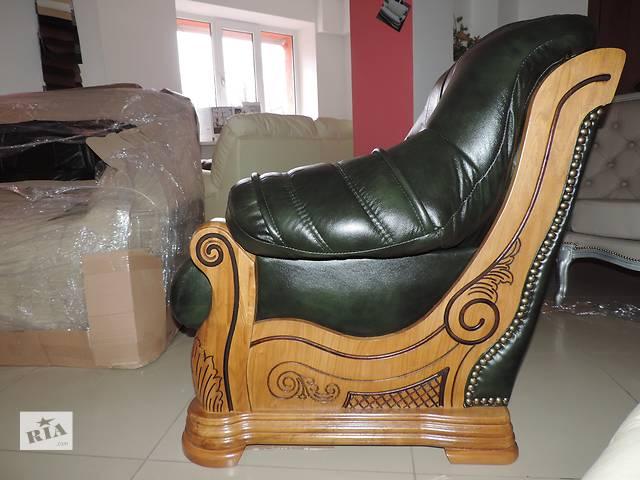 Кожаный диван Roma, кожаный комплект 3+1+1,кожаная мебель- объявление о продаже  в Дрогобыче