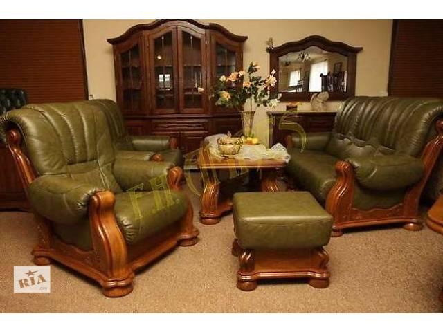 продам кожаный диван на дубе Cezar III, бу в Дрогобыче