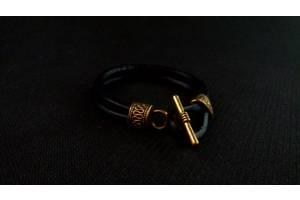 Новые Мужские кожаные браслеты