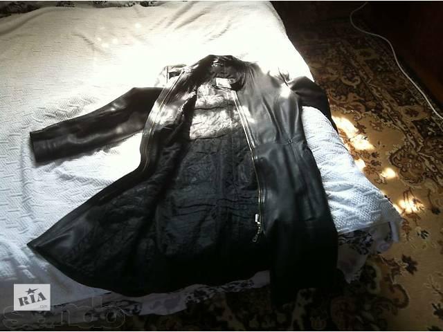 продам Кожаный плащ женский бу в Харькове